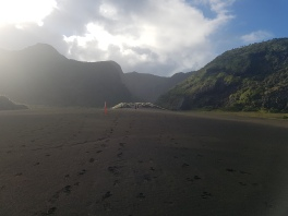 The black sands