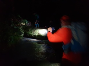 Hey a river crossing in the dark, what fun.