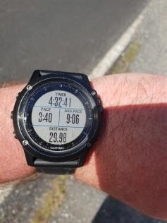 3:40min/km, seems legit.