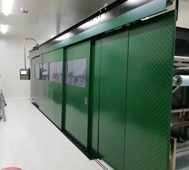 Thr Iguana Nanofibre machine